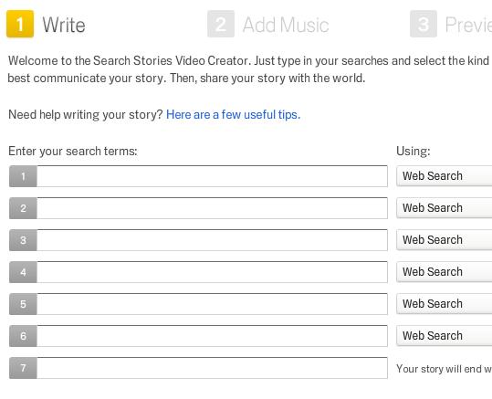 Skab din videohistorie med Google Search Stories