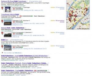 anmeldelser - hoteller københavn - Google
