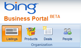 People Deals og Products - Bing Business Portal