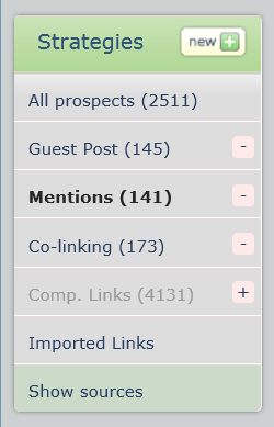 Find mentions