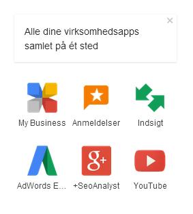 virksomhedsapps - Google My Business