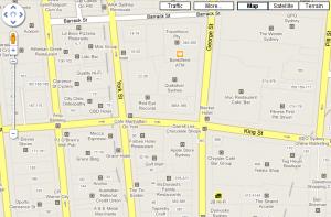 Virksomhedsikoner i Google Maps