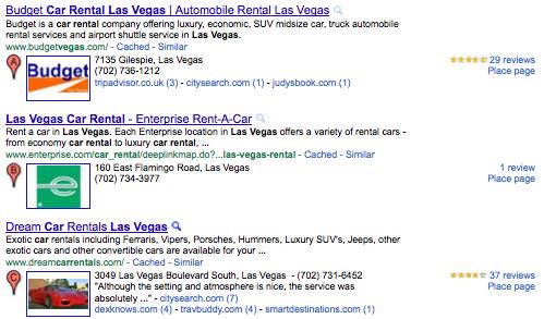 Google Places Plus One