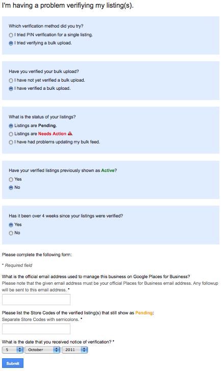 Hjælp til Google Places
