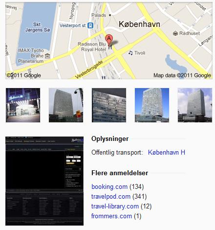 Google Places review sites