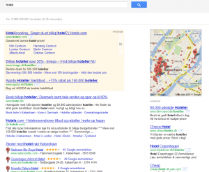 Google Place Pages - hotel