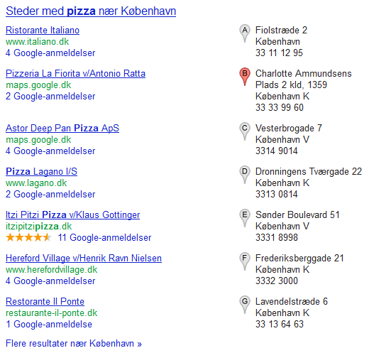 Local Search Red Pin