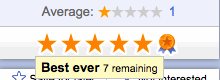 Best-Ever-Rating-Google-Places
