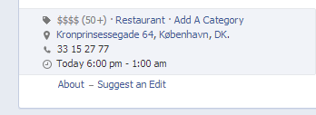 Facebook Graph Search - suggest an edit