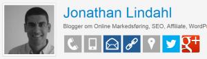 TwtBizCard Jonathan Lindahl