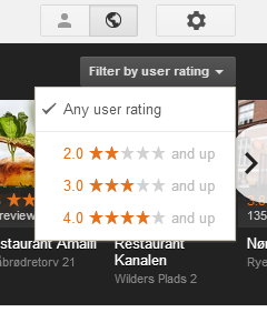 filter by rating